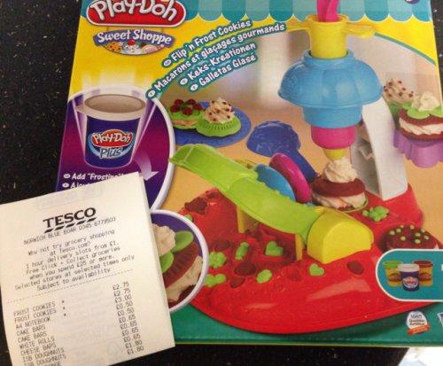 Play Doh Frost Cookie in Tesco Norwich Blue Boar £2.75!