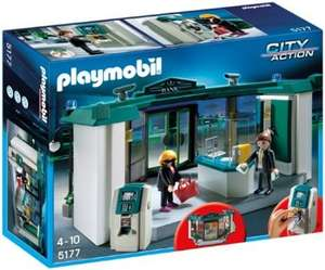 Playmobil 5177 city action bank with safe £14.96 @ Amazon