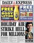 Free Johnson & Johnson body lotion with todays Daily Epress
