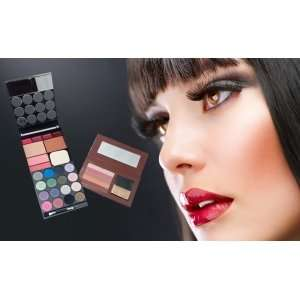 GET 22 PIECE COMPLETE MAKE-UP KIT WITH FREE BRONZER PALETTE (Worth over £20 - get all this for just £4.99) @ halfpriceperfumes