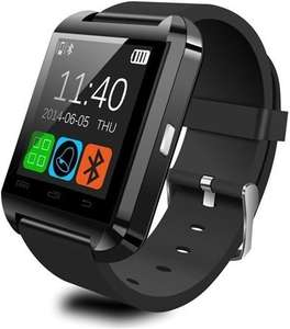 "GizzmoHeaven U8 Bluetooth 1.48"" Touch Screen Smartphone Smart Watch - Black - £19.99 @ GizzmoHeaven"