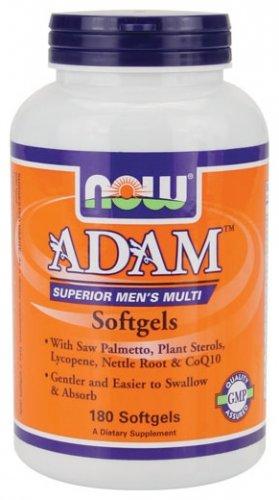 NOW Foods Adam Men's Multi Vitamin (180 Soft Gels) £24.94 @ dolphinfitness