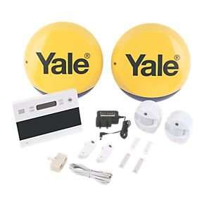 Screwfix have a Yale Easy Fit Telecommunicating Wireless 2-Room Alarm Kit at £199.99