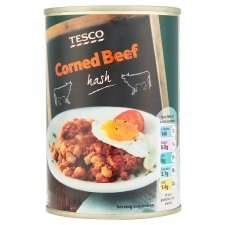 Tesco Corned Beef Hash 400g Tin 74p @ Tesco