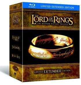 (Blu Ray) The Lord of the Rings Trilogy: Extended Versions  - £23.99 Using Code - Xtra Vision