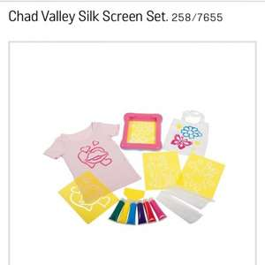 Chad Valley Silk Screen Set was £9.99 at Argos now £2.49