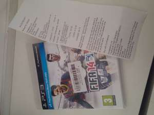 FIFA 14 PS3 £0.25 at Cash Generator, Shirley, Southampton