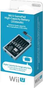Nintendo Wii U gamepad high capacity battery £18.21 delivered @ Amazon UK (cheapest ever), or £16.09 from Amazon France