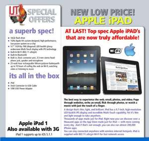 iPad 1 16Gb WiFi Black £99 + £6.99 delivery @ ijtdirect