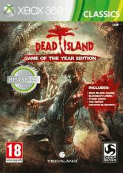 Dead Island GOTY edition Xbox 360 Classic - 4p @ TESCO INSTORE