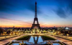 PARIS CITY BREAK JUST £92 PP RETURN FLIGHTS AND HOTEL INCLUDED ,Departing Manchester May 2015 £92 pp £184 per couple @ trivago/ryanair