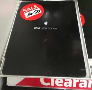 iPad smart covers, £14.50 clearance at tesco Middleton