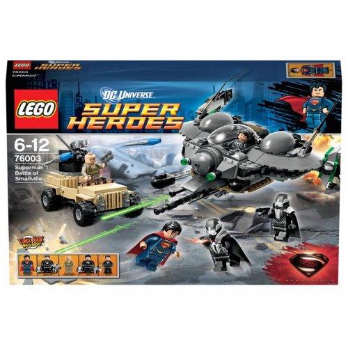 LEGO Super Heroes Superman Battle of Smallville 76003 @ Smythstoys.  Now £19.99