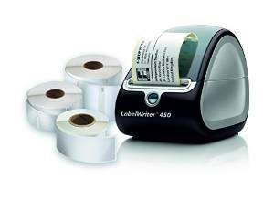Dymo label writer 450 with three rolls of labels £46.49 @ Amazon