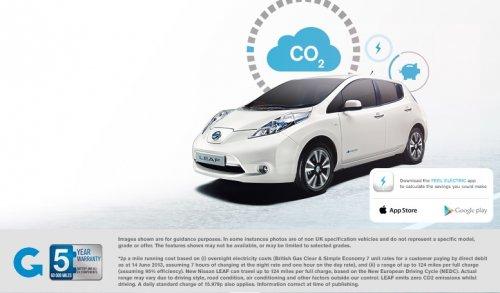 Nissan Leaf PCP, £159 per month. £3816 @ Nissan