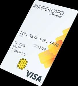 "Supercard Travelex Visa ""Debit"" - No International Fees"