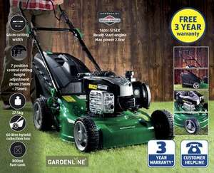 Self Propelled Petrol Lawnmower £179.99 at ALDI From 19th March