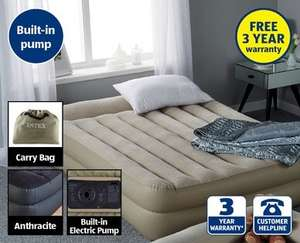 Aldi queen sized air bed with built in pump £34.99   hotukdeals