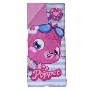 Childrens Moshi Monsters Vouge Sleeping Bag I Love Holidays £4.99 Xs stock