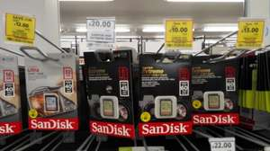 SanDisk Extreme/Ultra SDHC 16GB & 32GB card £8  instore @ Tesco