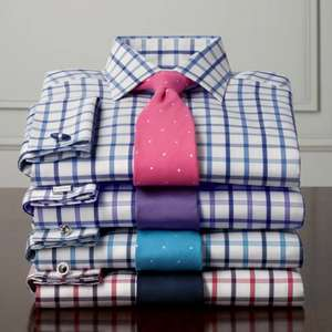 Lots of £34+  Charles Tyrwhitt shirts are now for £19.95 each + delivery for a limited time plus a free handmade silk tie worth £50