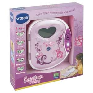 vtech secret diary reduced to clear £6 tesco (instore)