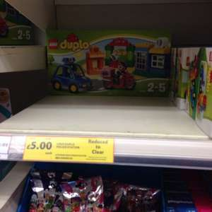 Duplo police station £5 @ Tesco