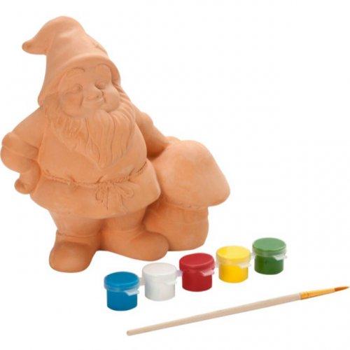 Paint your own gnome kit £2.49 argos