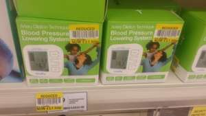 Kinetik Medical Blood Pressure Lowering System. Was £69.99 Reduced to clear £17.50. @ Tesco (in store New Milton)