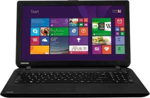 Toshiba Satellite C50 AMD E-Series 1.33GHz Dual Core 15.6 Inch 500GB 4GB Laptop £169.99 @ eBay from Argos Store
