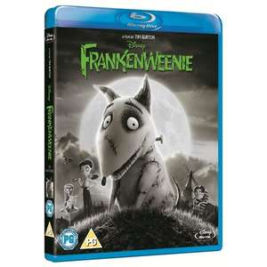 Frankenweenie (Blu-ray) £3.37 delivered @ zoverstocks (or YouwantitWegotit) / Play