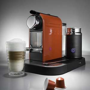 Nespresso CitiZ & Milk Titanium Coffee Machine £84.99 with code @ Robert Dyas