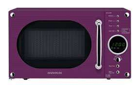 Daewoo microwave £25 from £55 (Purple model) @ Asda