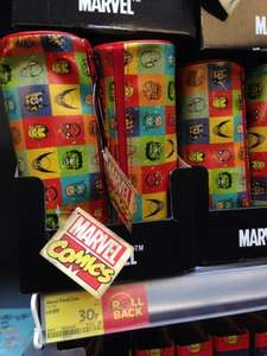 Marvel Pencil Case - 30p / Marvel Stationary Set - 50p - Asda (Instore).