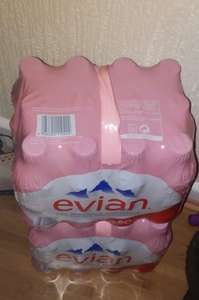 12 pack Evian [50 Cl] in-store at Asda for £1.00