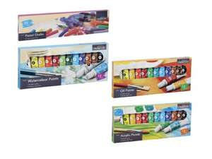 Hopscotch anyone?  CRELANDO Chalk or Paint Set for £1.99 /set @ Lidl from 23 March