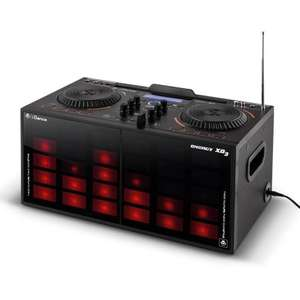 iDance XD3 DJ Mixer and Portable Sound System with Built in MP3 and Bluetooth Technology With Built In Light Show - Black, £89.99, Amazon
