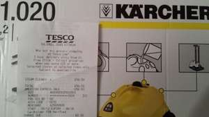 Karcher Steam Cleaner reduced £59.90  at Tesco instore