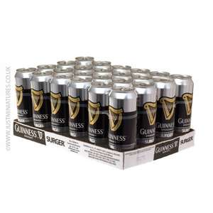 96 cans of Guinness and a free Surger unit (eBay'ing for £70 at the moment) - £159.99 @ Just Miniatures