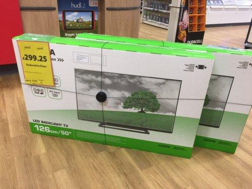 "Toshiba 50L2436DB 50"" LED Backlit Full HD LCD TV - £299.25 instore @ Tesco (Yate)"