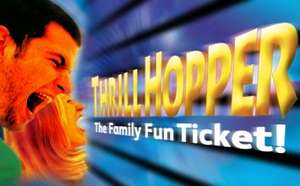 Thrill Hopper Ticket - Theme Park Discount Tickets - £170 @ Enjoy Staffordshire