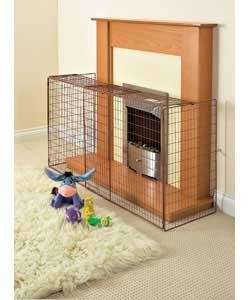 BabyStart Extending Child Safety Fireguard Argos £16.99