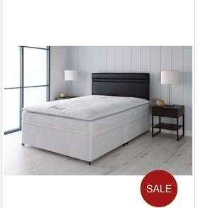 Airsprung 4 drawer double pillowtop  divan £263.99 delivered (using code) @ isme/Very New accounts only (possible 7% TCB)