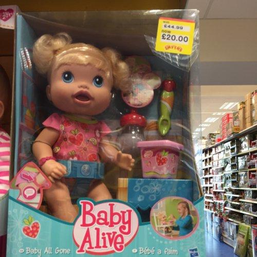 Baby Alive £20 @ Smyths Toys