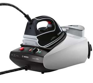 BOSCH TDS3525GB Steam Generator Iron - Black & Grey £89 currys