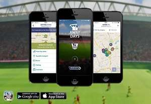 Free 500ml Coca-Cola and Sandwich with the Premier League Away Days app
