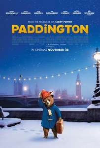 Paddington and Tinkerbell Movies for Juniors @ Cineworld only £1.58