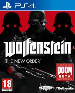 Wolfenstein: The New Order (PS4 + Xbox One) £14.99 in store @ Sainsbury's
