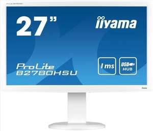 Iiyama ProLite B2780HSU-2 27 inch LED Gaming Monitor - Full HD, 1ms, HDMI £228.80 @ ebay / CCL Computers