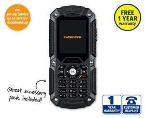 ALDI Rugged Dual Sim Mobile Phone for just £29.99 each (from 22 March)